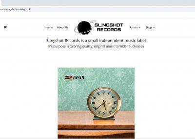 Slingshot Records Website