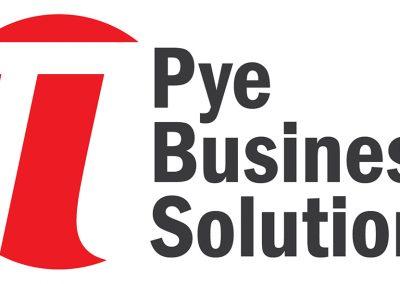 Pye Business Solutions – branding