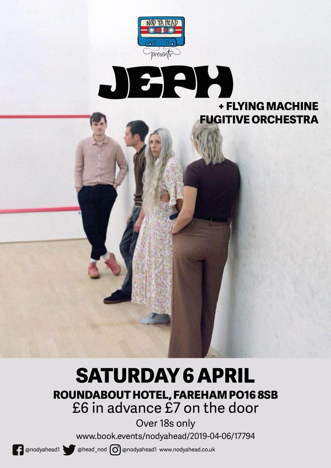 Jeph – gig poster